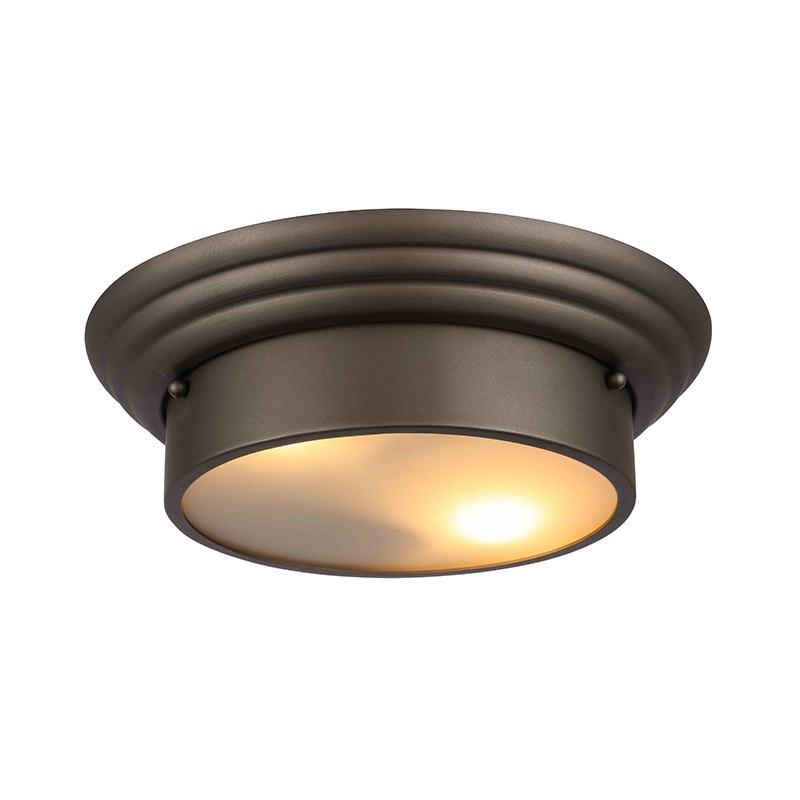 Nice Lighting Project Ceiling Lamp ORB Brown Color With E26/E12/E27/E14 Socket CL-01