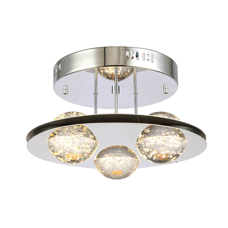 Modern Ceiling Lamp LED Bubble Crystal Ball manufacturer NC9256P-3