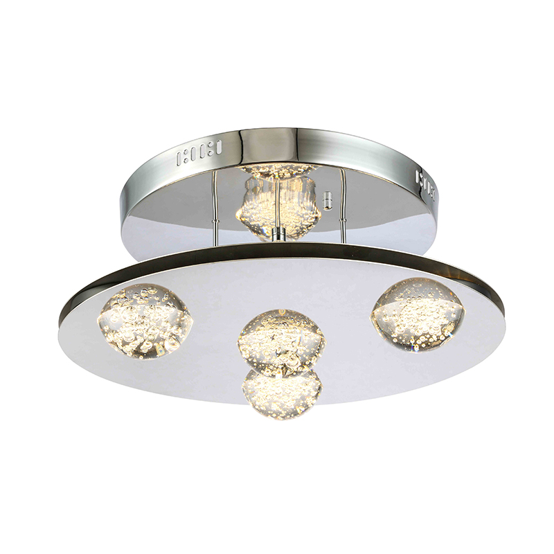LED Bubble Crystal Ball Modern Ceiling pendant Lamp manufacturer NC9256P-4