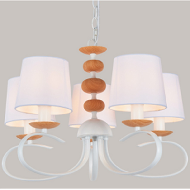7 Light Clear E14 Shade Chandelier NC1037P-7